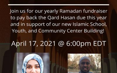 Ramadan Fundraiser 2021: Mark Your Calendar!
