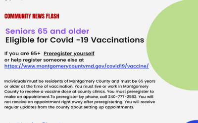 Covid-19 vaccine for age 65 & older