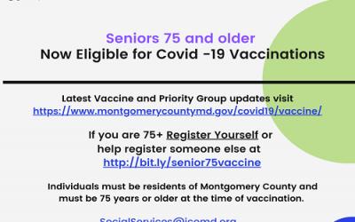 Covid-19 vaccine for age 75 & older