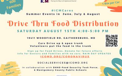 Summer Drive Thru Food Distribution