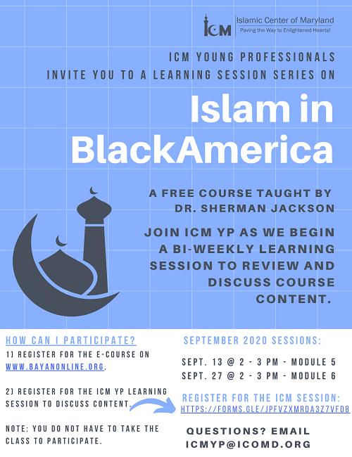 Learning session: Islam In Black America