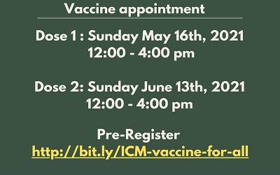 Get Covid Vaccine At ICM!