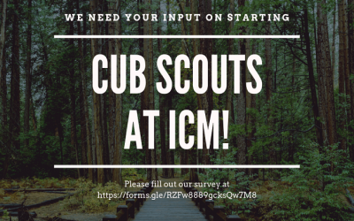 Join Cub Scouts Meeting At ICM