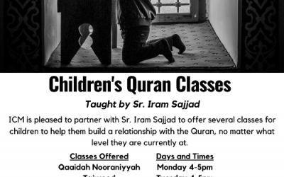 ICM Presents Kid's Quran Classes