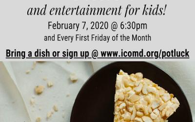 Community Potluck & Kids Entertainment
