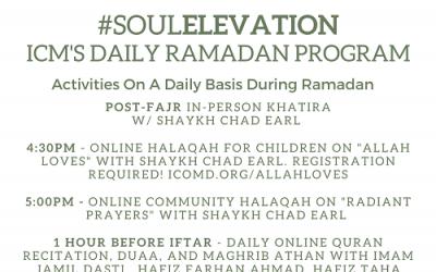 Join ICM's Daily Ramadan Program