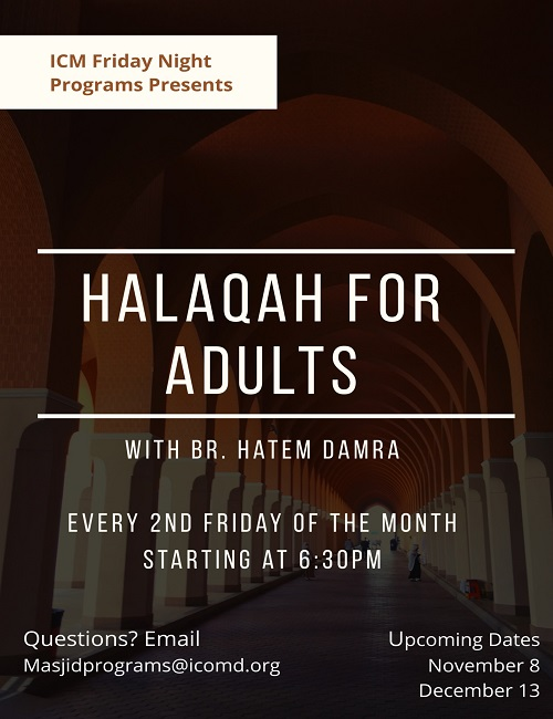 Friday Night Halaqas For Adults
