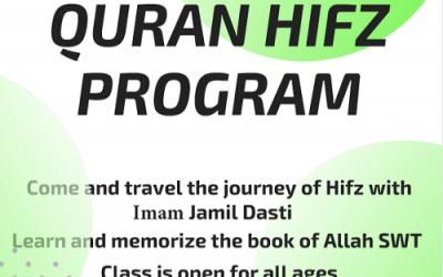 Full time Hifz Program