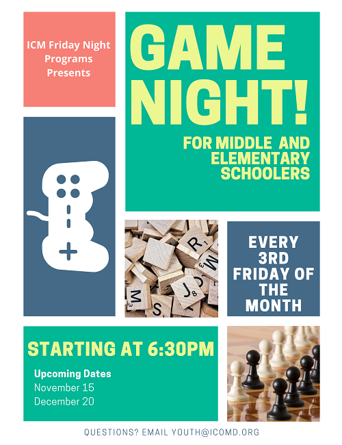 Game Night! Come Join Us