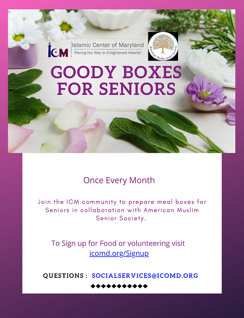 Goody Boxes For The Seniors