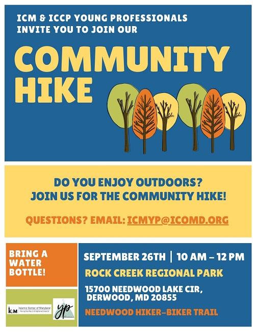 Community Hike @ Rock Creek Regional Park