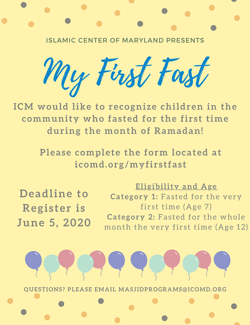 Exciting 'My First Fast' Program For The Kids