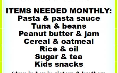 ICM Food Bank Supply Drive