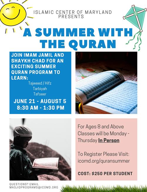ICM Quran Summer Camp 2021
