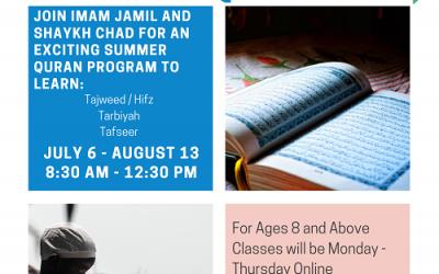 ICM Quran Summer Camp 2020