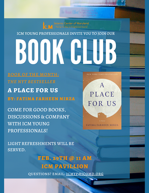 ICM YP Invites You To Join The Book Club