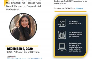 Learn Financial Aid Process W Manal Farooq