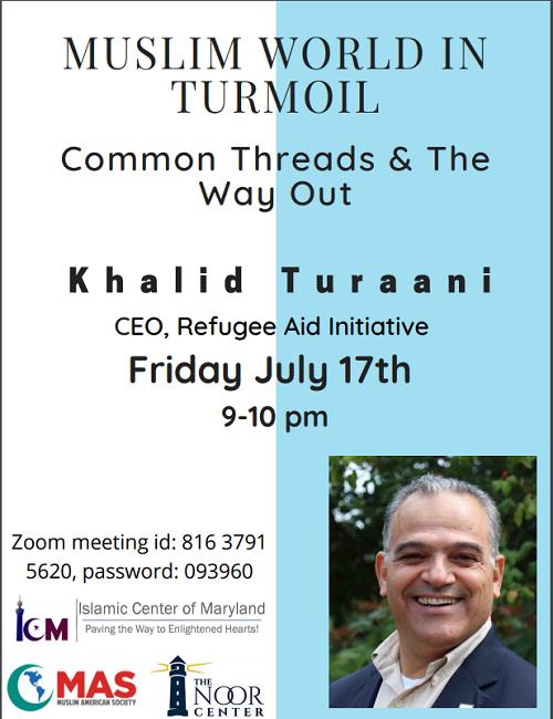 Muslim World In Turmoil W Khaled Turrani
