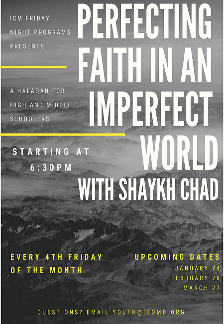 Perfecting Faith In an imperfect world