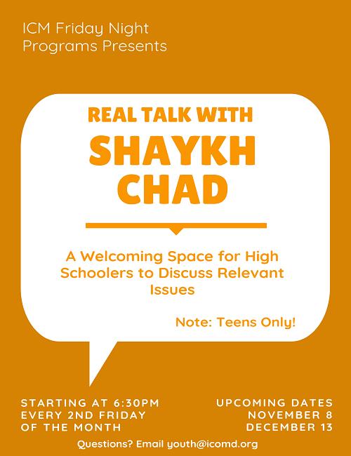 Real Talk with Shaykh Chad