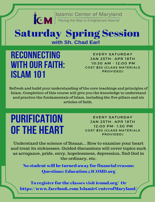 Saturday Series w Sheikh Chad Earl