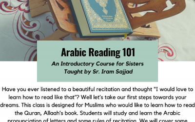 Arabic Reading 101 For Sisters