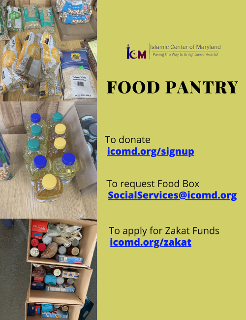 ICM Social Service Food Pantry
