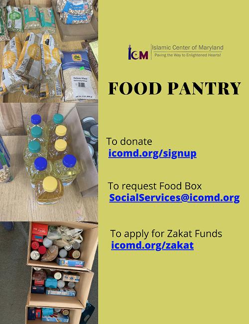 ICM Social Service Food Pantry