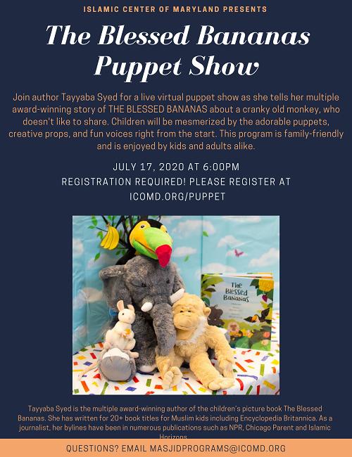 The Blessed Bananas Puppet Show