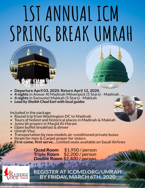 1st Annual ICM Spring Break Umrah 2020