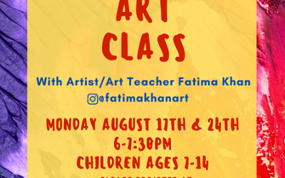 ICM Presents Virtual Fun Art Class
