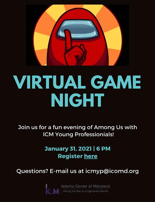 ICM Invites You To Virtual Game night