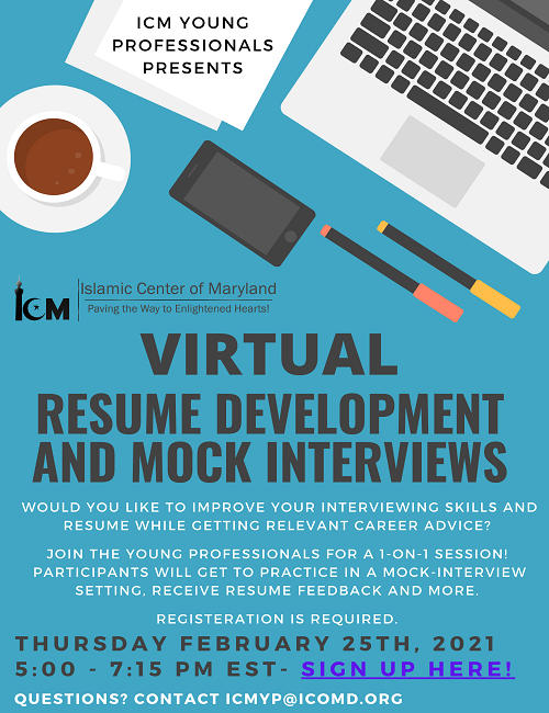 Resume Development and Mock Interviews