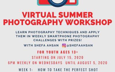 Virtual Summer Photography Workshop