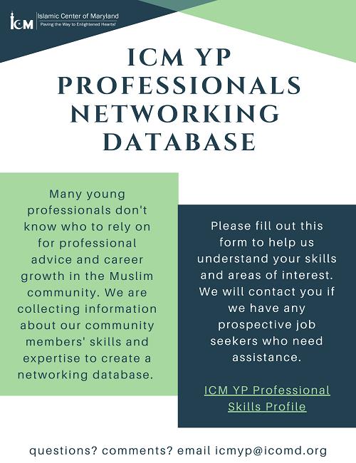ICM YP Networking Database