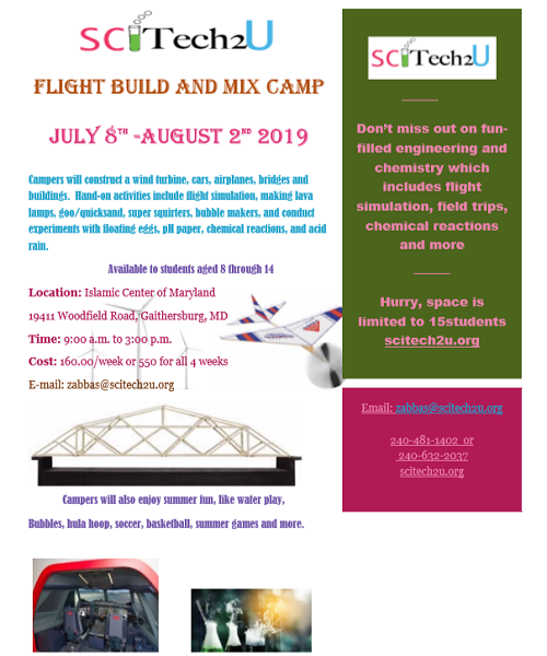 Science Summer Camp: Space is limited!
